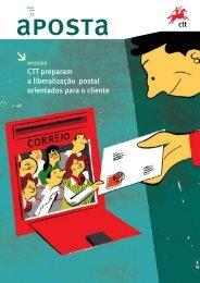 CTT preparam a liberalização postal orientados para o cliente