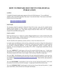 how to prepare documents for journal publication - The Institute for ...