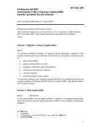 Ordinanza del DFI concernente l'olio e il grasso ... - admin.ch