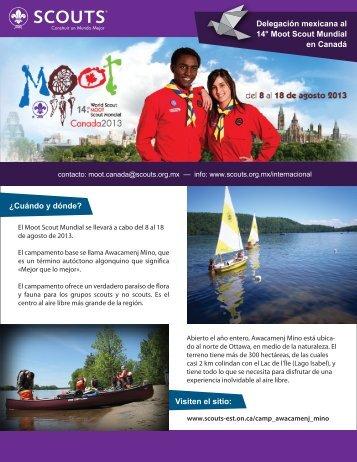 Delegación mexicana al 14° Moot Scout Mundial - Asociación de ...
