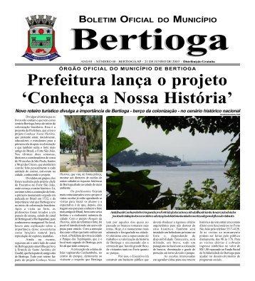 48 - Prefeitura do Município de BERTIOGA.