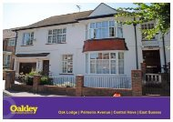 Oak Lodge | Palmeira Avenue | Central Hove | East Sussex - Oakley