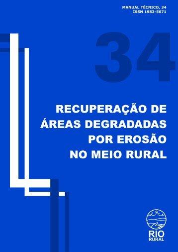 Recuperação de áreas degradadas - Pesagro-Rio - Governo do ...