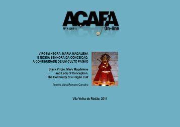 Virgem Negra, Maria Madalena e Nossa Senhora da Conceição. A ...