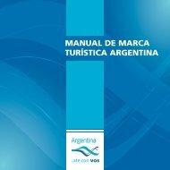 MANUAL DE MARCA TURÍSTICA ARGENTINA
