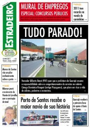 Jornal Estradeiro - Edição 33 - ACTA SINDGRAN