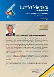 Carta de Maio - Rotary em Portugal