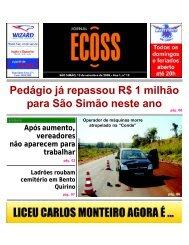 Jornal Ecoss Edição Nº 19