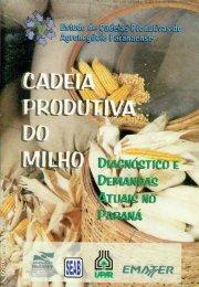 Cadeia produtiva do milho: diagnóstico e demandas atuais - Iapar