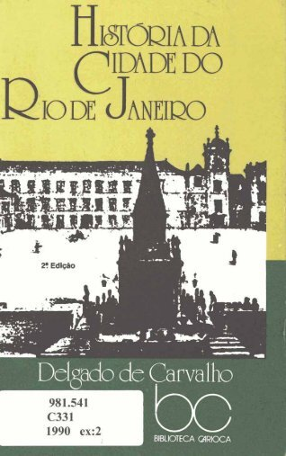 HIöTODIA DA y - Portal da Prefeitura da Cidade do Rio de Janeiro
