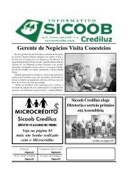 Informativo 14 | Fevereiro a Abril 2010 - SICOOB CREDILUZ
