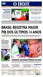 brasil registra maior pib dos últimos 14 anos - Jornal O Hoje