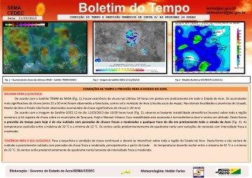 Meteorologista: Helder Farias