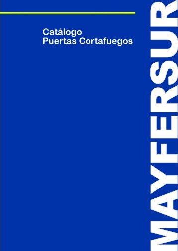 Catalogo Puertas Cortafuegos Mayfersur