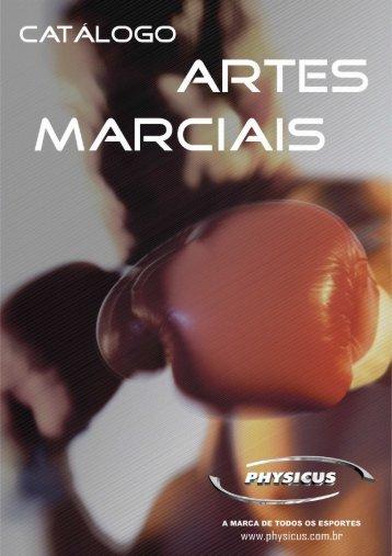Catálogo Artes Marciais - Physicus