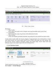 download tutorial joomla konten