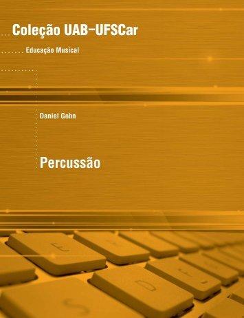 Coleção UAB−UFSCar Percussão - Livre Saber - UFSCar