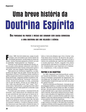 Como Surgiu a Doutrina Espírita - Revista Cristã de Espiritismo