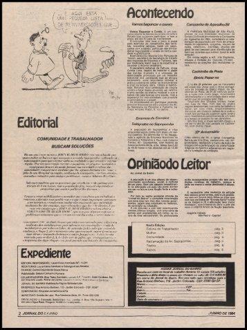 Acontecendo Editorial Opiniãodo Leitor