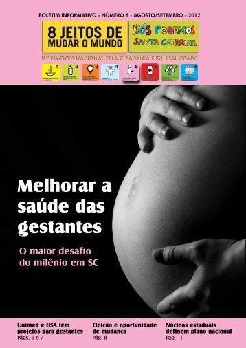 Melhorar a saúde das gestantes - ODM Brasil
