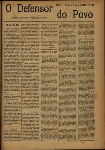 Defensor BI-SEMANARIO REPUBLICANO