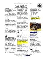 Nº 18 = Janeiro - Fevereiro 2003 - Sociedade Valeparaibana de ...
