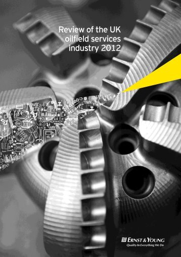 Review of the UK oilfield services industry 2012