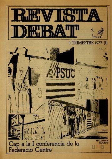 de deb[a]t, 1977
