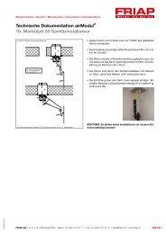 Merkblatt 05 Sanitärinstallateur - Friap AG