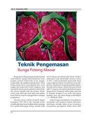 Teknik Pengemasan Bunga Potong Mawar - Hortikultura