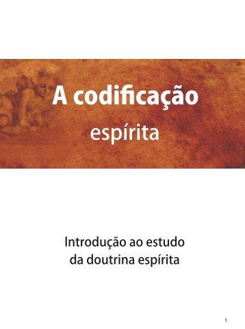 A codificação - Revista Cristã de Espiritismo