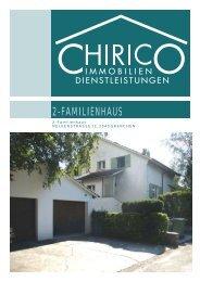 2-Familienhaus Nelkenstrasse 11, 2540 Grenchen - Chirico ...
