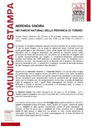 MERENDA SINOIRA - Turismo Torino