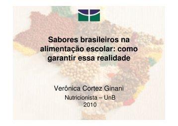 Sabores brasileiros na alimentação escolar - REBRAE - Rede ...