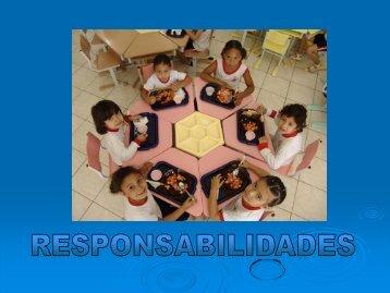 Responsabilidades - Secretaria da Educação de Sorocaba