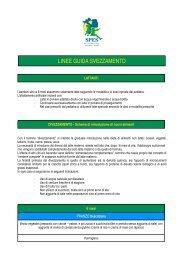 linee guida svezzamento e grammature pasti - Centro Montessori ...