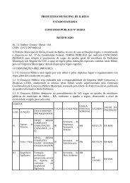 Prefeitura Municipal de Ilhéus - Edital nº 01-2011 - Concursos ...
