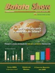 Revista Batata Show - Ano 9 - n° 25 - dezembro de 2009