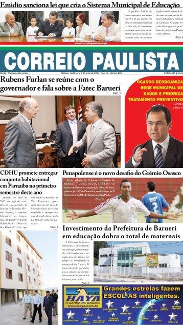 Rubens Furlan se reúne com o governador e fala ... - Correio Paulista