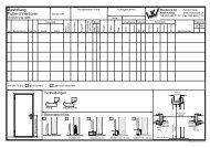 Futter-Innentüren - Woodwork AG