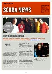 Clique aqui para acessar o nosso Scuba News de Agosto - Scuba Du