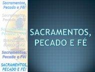 sacramento, pecados e fé! - FDZ