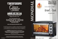 Manual Forno Grand Cook Premium FR-07 09-12 Rev 02 - Mondial