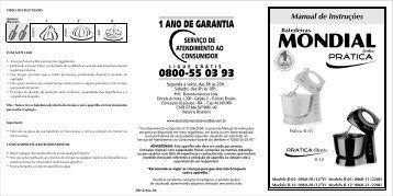 Manual de Instruções - Magazine Luiza