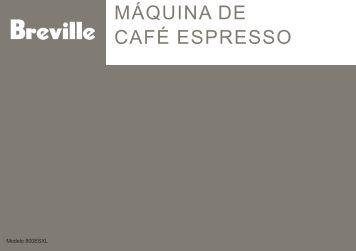 CAFÉ ESPRESSO MÁQUINA DE