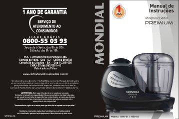 Manual_Mini Processador Premium MP-01 12-12 Rev04 - Mondial