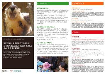 download pdf programas educativos 2009/2010 - Jardim Zoológico ...