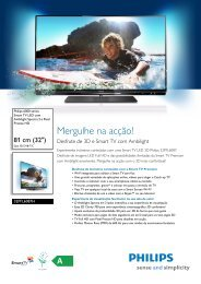 Leaflet 32PFL6087H_12 Released Portugal ... - Magnavox