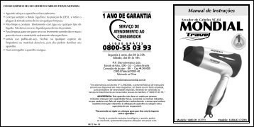 Manual_Secador SC-04 08-12 Rev03 - Mondial