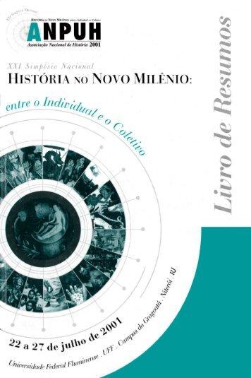 Livro de resumos - Associação Nacional de História
